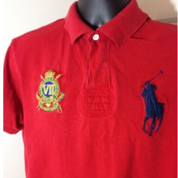Lauren Red Big Polo Ralph Country Riders Pony tdCBohQrxs